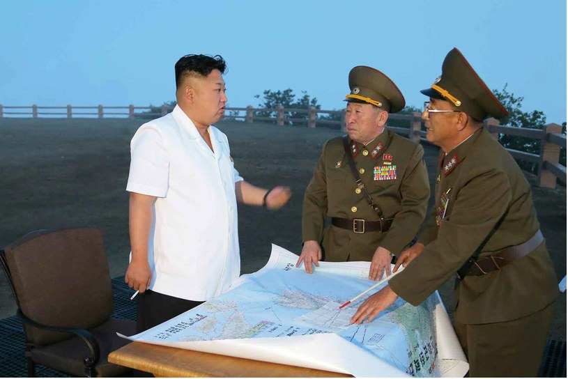 Korea Północna znów zaskakuje /AFP/PAP/EPA