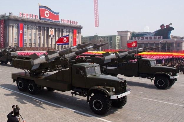 Korea Północna /AFP