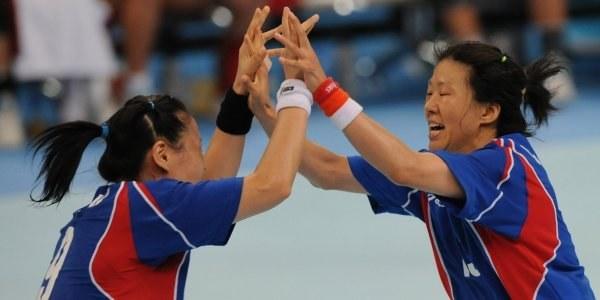Koreanki w meczu o brązowy medal pokonały Węgierki 33:28 /AFP