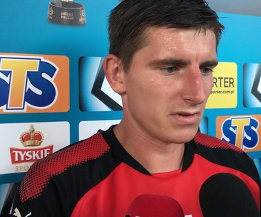 Korona - Sandecja 1-0. Jacek Kiełb po meczu