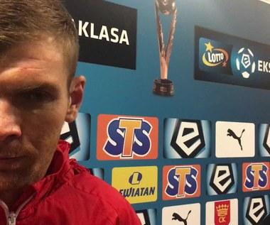 Korona - Śląsk 3-0. Bartosz Rymaniak o meczu. Wideo