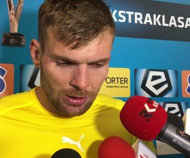 Korona - Zagłębie 0-1. Bartosz Rymaniak: Szkoda, że nie ma punktów. Wideo