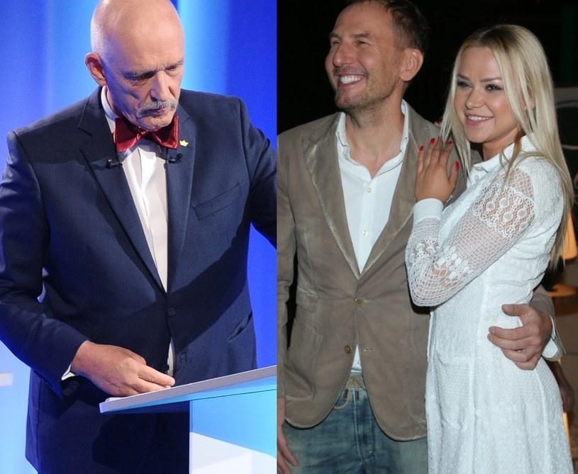 Korwin Mikke i Gojdź z Ciupą /- /MWMedia