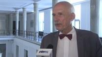 Korwin-Mikke o ustawach zawetowanych przez prezydenta: To byłby totalitaryzm (TV Interia)