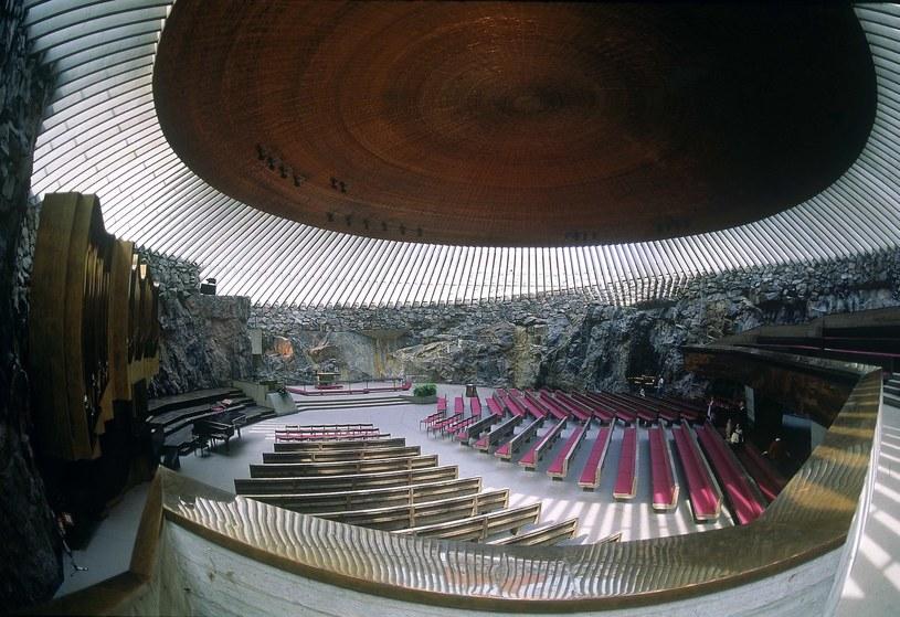 Kościół Temppeliaukio w Helsinkach /East News