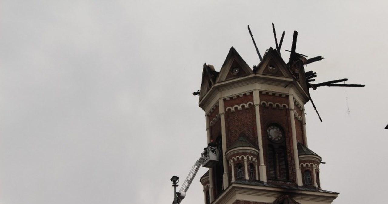 Kościół w Białymstoku został już ugaszony:
