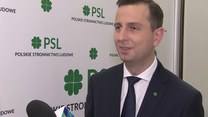 Kosiniak-Kamysz (PSL) o Donaldzie Tusku i Trybunale Konstytucyjnym (TV Interia)