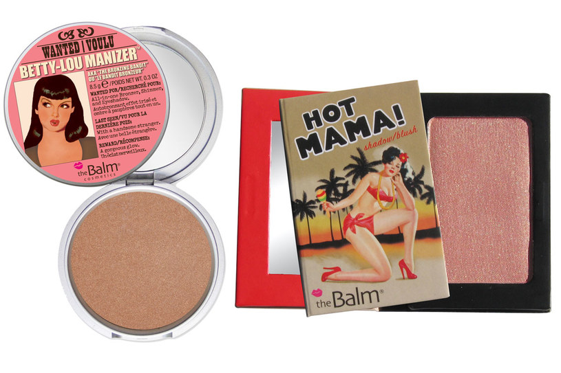 Kosmetyki do makijażu marki The Balm /Styl.pl/materiały prasowe