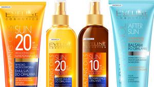 Kosmetyki do opalania od Eveline