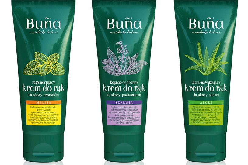 Kosmetyki do rąk marki Buña /materiały prasowe