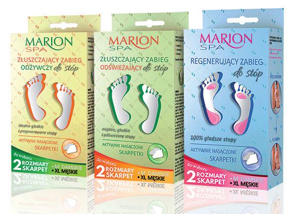 Kosmetyki do stóp od Marion /materiały prasowe