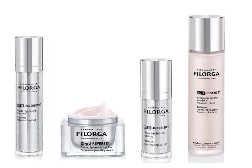 Kosmetyki NCTF-REVERSE marki Filorga /materiały prasowe