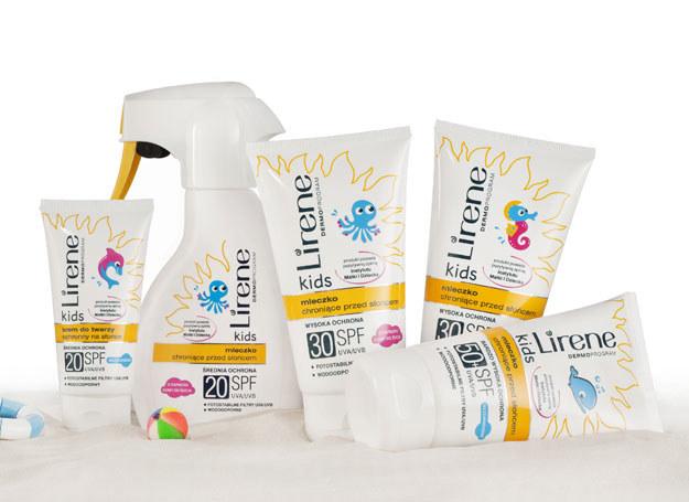 Kosmetyki ochronne dla dzieci /materiały prasowe
