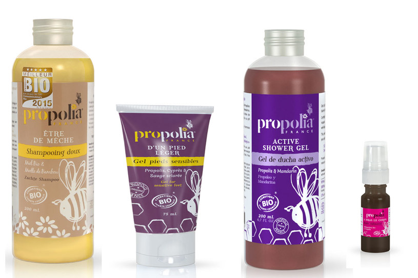Kosmetyki Propolia do pielęgnacji ciała /materiały prasowe