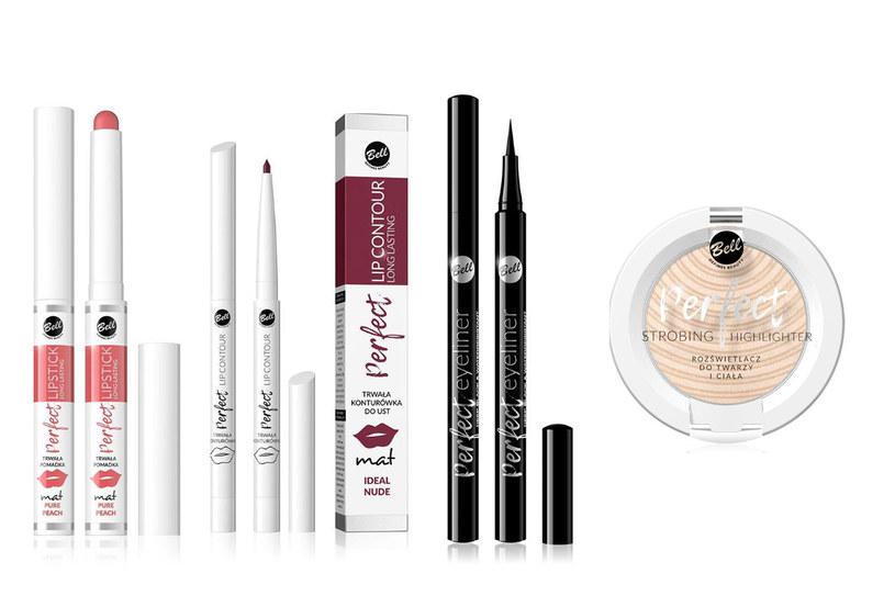 Kosmetyki z linii Perfect marki Bell /materiały prasowe