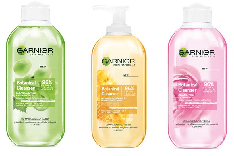 Kosmetyki z serii Garnier Botanical /materiały prasowe