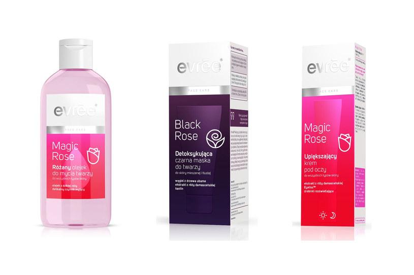 Kosmetyki z serii Magic Rose evrēe /materiały prasowe