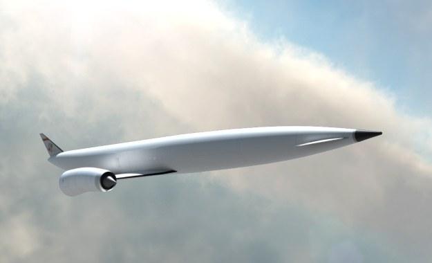 Kosmiczny samolot. Fot. BAE Systems /materiały prasowe