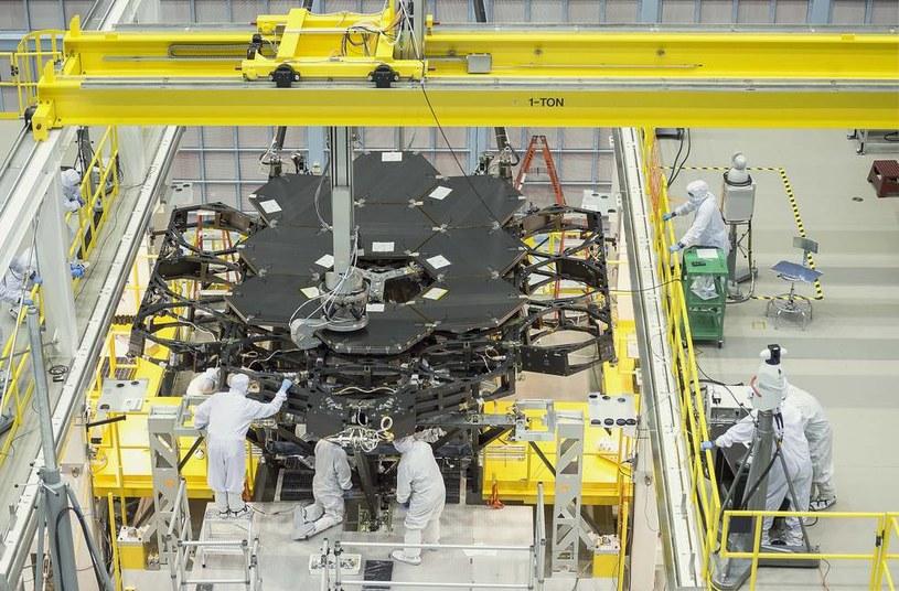 Kosmiczny Teleskop Jamesa Webba nabiera ostatecznych kształtów /NASA
