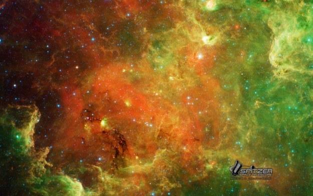 Kosmiczny teleskop Spitzer działa już od 10 lat. Jest źródłem wielu niesamowitych fotografii /NASA