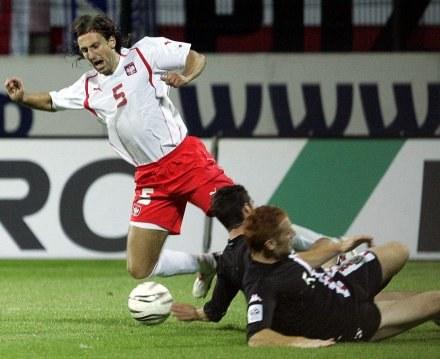 Kosowski chce wrócić do reprezentacji /AFP