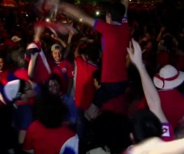 Kostaryka bawi się po awansie na MŚ. Wideo