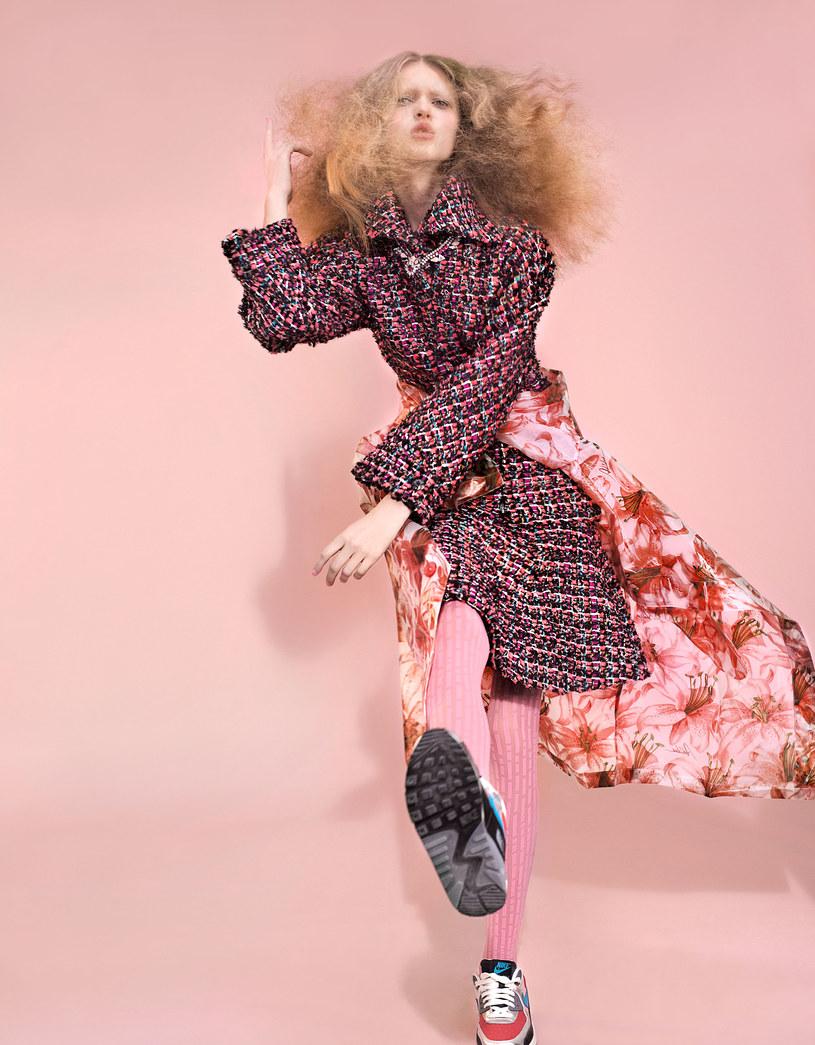 Kostium z tweedu to propozycja klasyczna /Wunsche&Samsel /Twój Styl