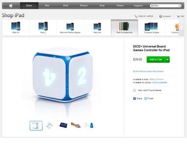 Kostka DICE+: Pierwszy polski produkt w Apple Store