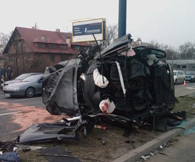 Koszmarny wypadek BMW