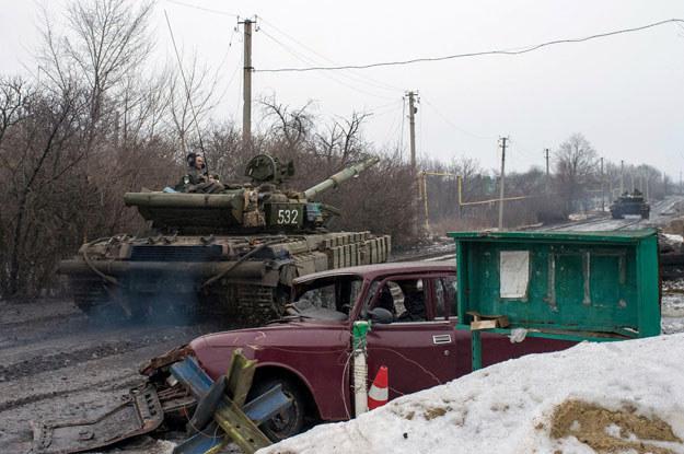 Koszty wojny spowodowały trudną sytuację budżetową na Ukrainie fot. Oleksandr Stashevskiy /AFP