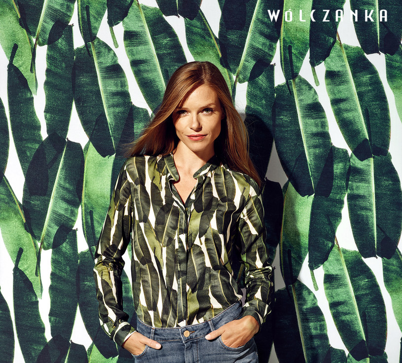 Koszula Wólczanka w liście bananowca – hit lata 2016 /materiały promocyjne