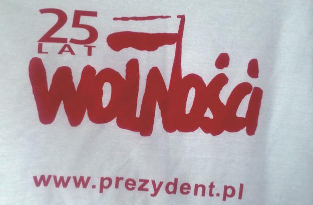 Koszulka od prezydenta RP... /INTERIA.PL