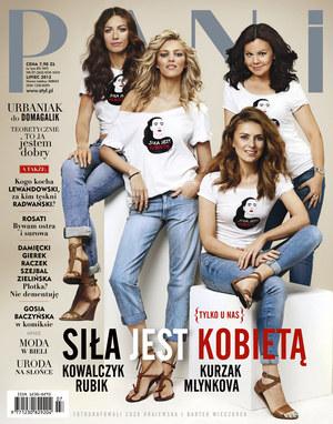 """Koszulki """"Siła jest kobietą"""" możecie kupić w sklepach Tatuum /Pani"""