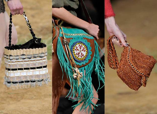 Koszyczki, plecionki, torebkiw stylu etno będą modne w tym sezonie /East News/ Zeppelin