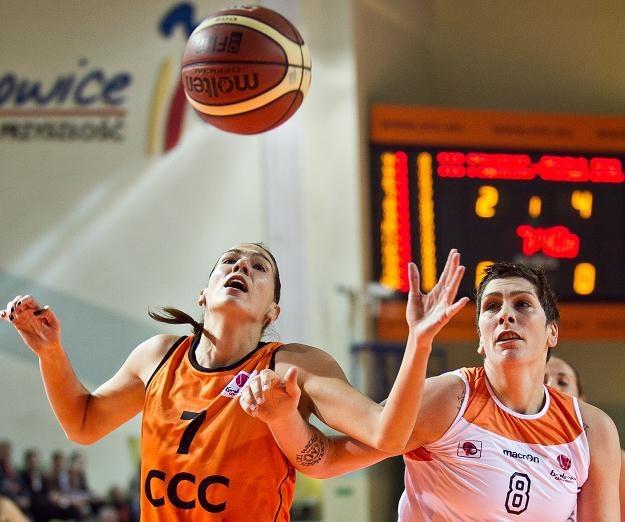 Koszykarki CCC Polkowice odniosły pierwsze zwycięstwo w Eurolidze Fot. Maciej Kulczyński /PAP
