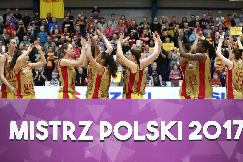 Koszykarki Ślęzy Wrocław /Paweł Relikowski / Polska Press /East News