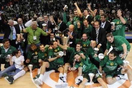 Koszykarze Panathinaikosu to mistrzowie Euroligi /AFP