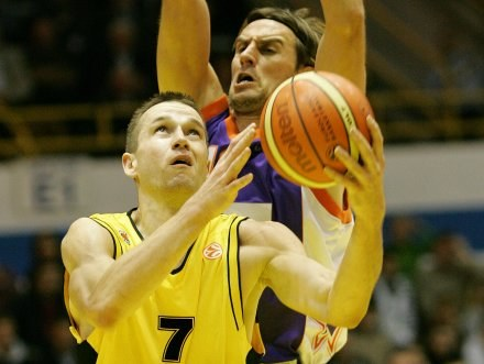 Koszykarze Prokomu Trefla Sopot w czwartek zmierzą się z Olympiakosem Pireus Fot. Łukasz Grochala /Agencja Przegląd Sportowy