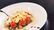 Kotlety sojowe z pieczarkami i serem
