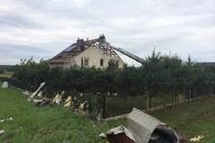 Krajobraz po kataklizmie. Zniszczona Kraczkowa
