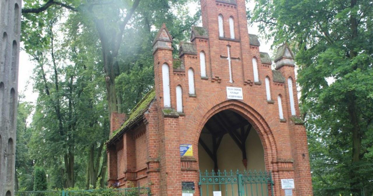 Krajobraz po nawałnicy w Dobrym Mieście w woj. warmińsko-mazurskim