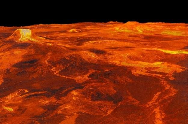 Krajobraz Wenus przypomina prawdziwe piekło /NASA