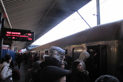 Kraków: O wejście do pociągu trzeba zawalczyć