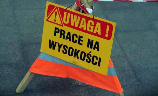 Kraków: Tragedia na placu budowy. 1 osoba nie żyje