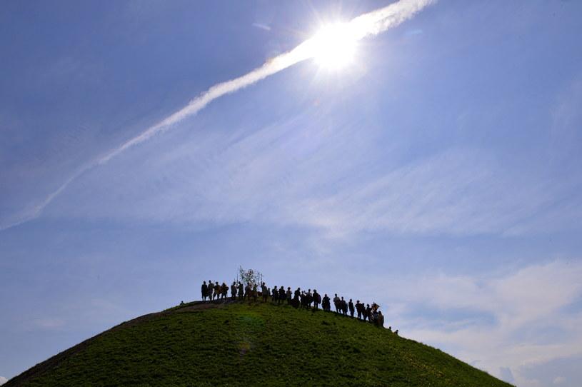 Krakowianie i turyści obchodzili Święto Rękawki /Jacek Bednarczyk /PAP