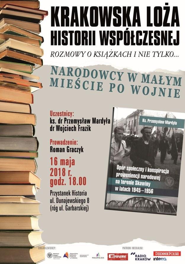 Krakowska Loża Historii Współczesnej zaprasza /IPN