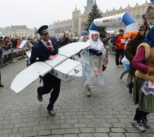 Krakowski Bieg Sylwestrowy: Więcej zabawy niż rywalizacji