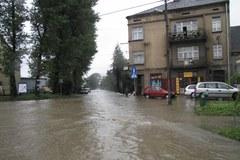 Krakowski Bieżanów pod wodą