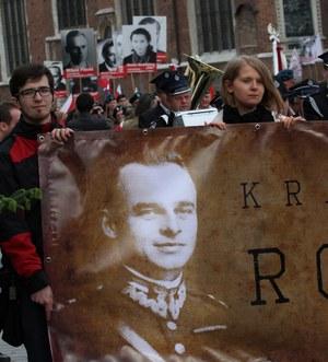 Krakowski Marsz Rotmistrza przeszedł przez miasto 25 maja, w 65. rocznicę śmierci rotmistrza Witolda Pileckiego. /Jacek Bednarczyk /PAP