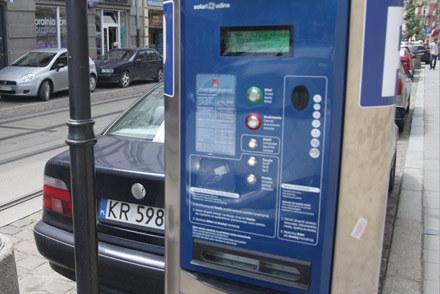 Krakowski parkomat /INTERIA.PL